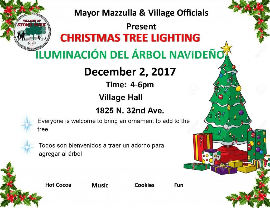 Tree Lighting 2017
